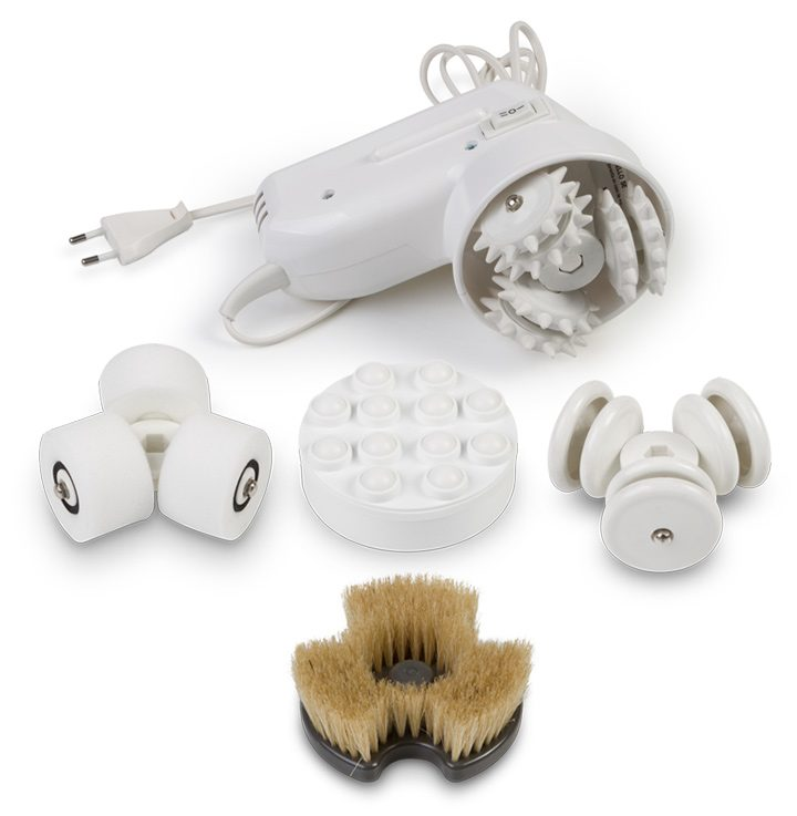 Equipo de masaje Massterplus con 5 rotores