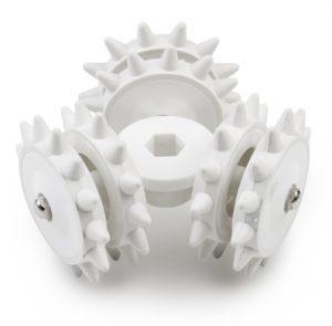 Celulite serrilhada especial do rotor