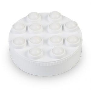 Accesorio de equipo de masaje para aplicación de cremas