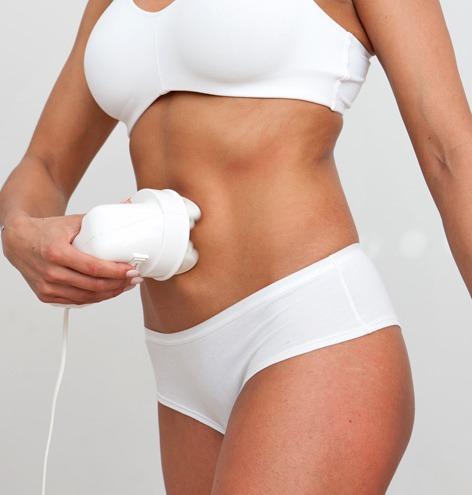 Reducir la celulitis del abdomen