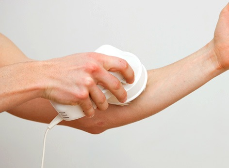 masaje anticelulitis en brazos