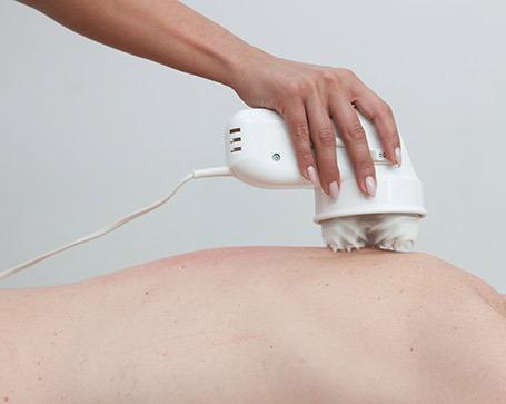 masaje para el dolor de espalda en adolescentes