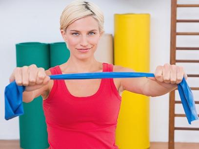 ejercicios con cinta elástica